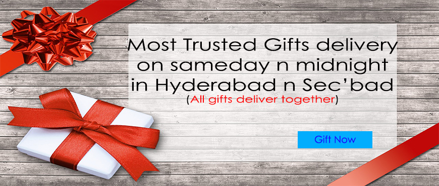 Hyderabad & Secunderabad Gifts Delivery