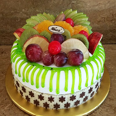 Fresh Fruit Fancy Cake Frm VACs