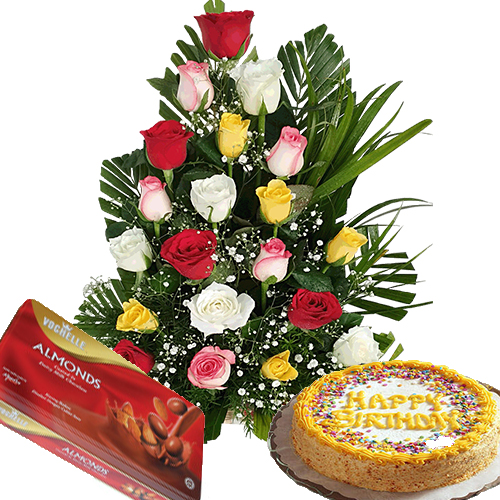Send Cake And Flowers To Hyderabad India