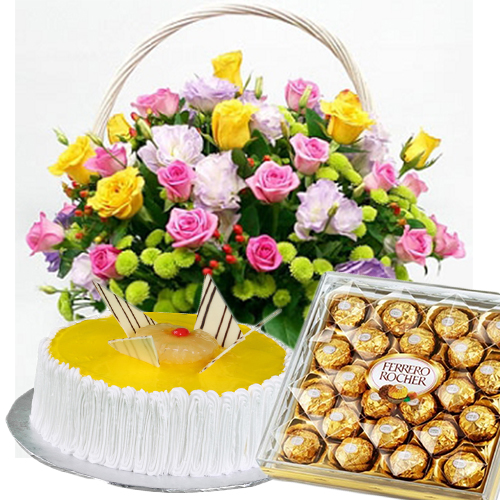 online cake and flowers delivery in hyderabad