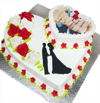 Order Wedding Cakes Online For Delivery In Hyderabad